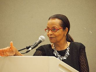 Elizabeth Nunez - at 2016 Fall for the Book
