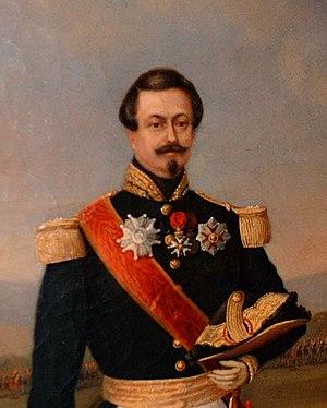 Saint Helena Medal - General Émile Perrodon, a recipient of the Saint Helena Medal