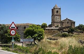 Salvatierra de Santiago municipality in Extremadura, Spain
