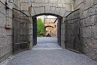 Entrance of Vaxholm Fortress in August 2019.jpg