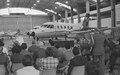 Entrega de aviões bandeirantes à Força Aérea do Uruguai em São José dos Campos, SP..tif