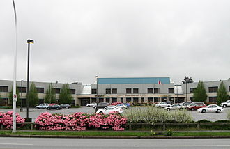 Enver Creek Secondary School - Image: Enver Creek Secondary (84 Avenue)