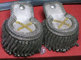 Epaulettes of commander-in-chief of November Uprising Jan Skrzynecki