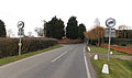 Epping Upland - Upland Road looking west towards the perimeter wall of Walton Lodge.jpg