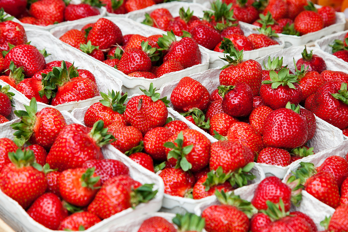 List of strawberry dishes - Wikipedia