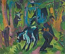 Ernst Ludwig Kirchner - Kühe im Walde - 11127 - Bavarian State Painting Collections.jpg