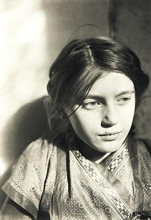 Lina Franziska Fehrmann - Portrait of Lina Franziska Fehrmann by Ernst Ludwig Kirchner