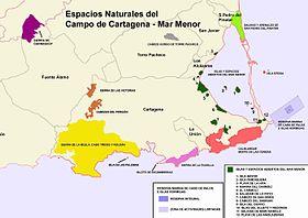 Mar Menor Mapa Fisico.Mar Menor Wikipedia La Enciclopedia Libre