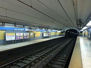 General San Martín (Buenos Aires Underground) - Image: Estación General San Martín Subte de Buenos Aires
