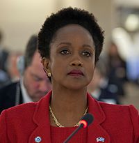 Esther Brimmer (crop) at HRC Urgent Debate on Syria.jpg