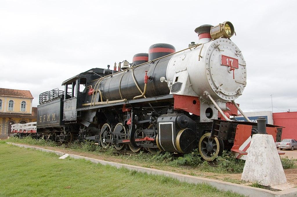 Locomotiva da Estrada de Ferro Madeira-Mamoré