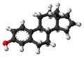 Estratetraenol molecule ball.png