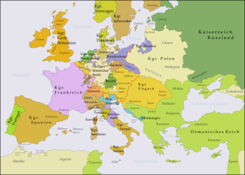 Europe after the Peace of Aachen