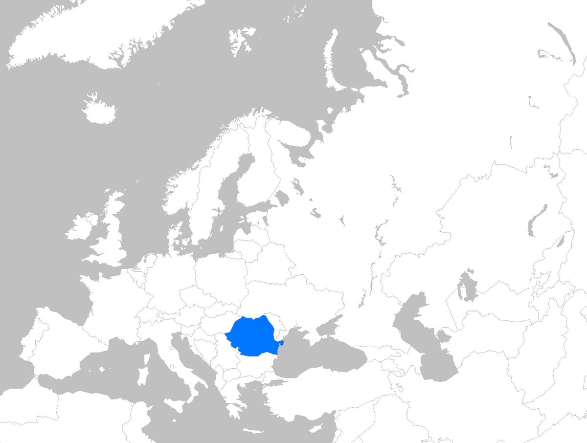Image of: File Europe Map Romania Png Wikipedia