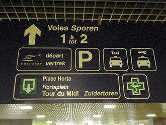 Eurostar - Eurostar departure information – Brussels