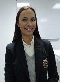 Eva Paunova in Software University Sofia 2015-10-09.jpg