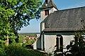 Evangelische Kirche in Jugenheim, 1263 durch Konrad II. von Bickenbach und seine Gemahlin Guda gestiftet - panoramio.jpg