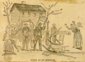 Eviction of mine workers during the Morewood strike 1891.png