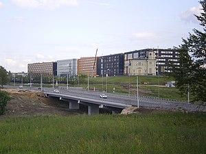 St. Petersburg International Economic Forum - Expoforum complex is being built near the Pulkovo Airport