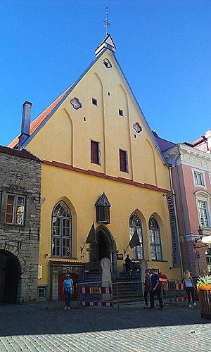 Estonian History Museum - Image: Exterior of the Estonian History Museum