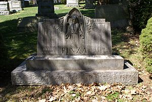 Ezio Pinza - The grave of Ezio Pinza