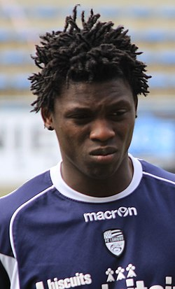 FC Lorient - May 24th 2013 training - Lamine Gassama (cropped).JPG