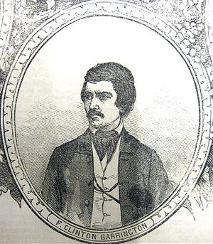 Joseph Holt Ingraham - Portrait of F. Clinton Barrington (Joseph Holt Ingraham), 1852