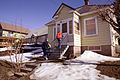 FEMA - 40047 - FEMA Community Relations Specialists working in an affected neighborhood in Washington.jpg