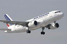l'Airbus A319 F-GRXC