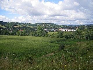 Bidouze river in France