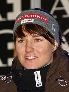 Fabienne Suter Swiss alpine skier
