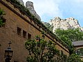 Facade with Mountain Backdrop - Montserrat - Catalunya - Spain (14380223758).jpg
