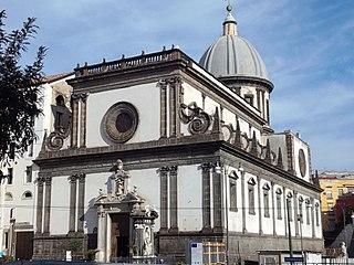 Santa Caterina a Formiello Church in Campania, Italy