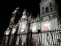 Fachada de la Catedral Metropolitana vista nocturna.jpg