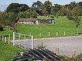 Facilities at Quarry Park, Blackdown - geograph.org.uk - 1539172.jpg