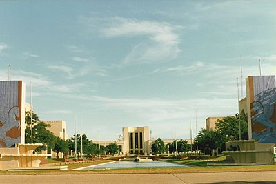 Texas Centennial Exposition Buildings (1936-1937), Fair Park, Dallas