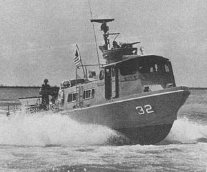 Patrol Craft Fast - PCF-32 on patrol