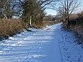 Faultston Lane, Bishopstone - geograph.org.uk - 1650689.jpg