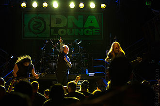Fear Factory - Fear Factory performing at the DNA Lounge in 2013