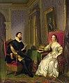 Felice Schiavoni Torquato Tasso and Leonora d'Este 1839.jpg