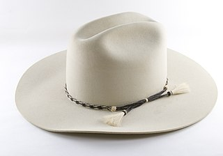Cowboy hat Large hat associated with cowboys