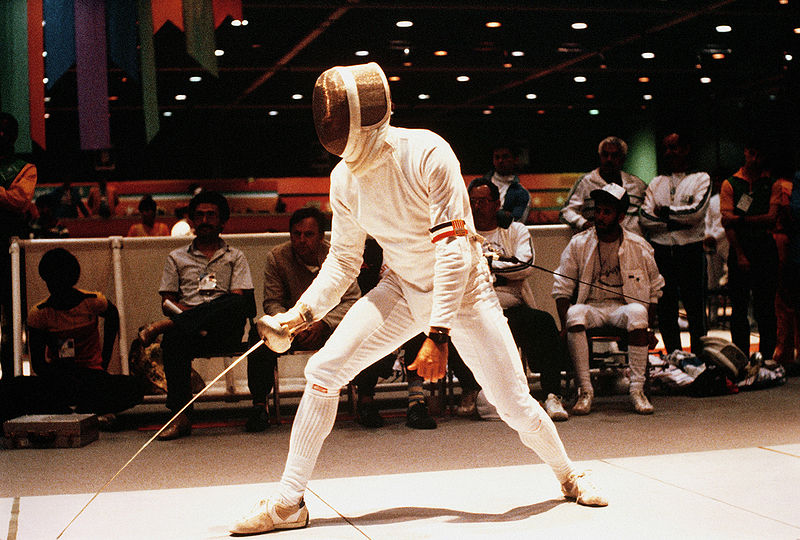 Tiedosto:Fencing at the 1984 Summer Olympics.JPEG