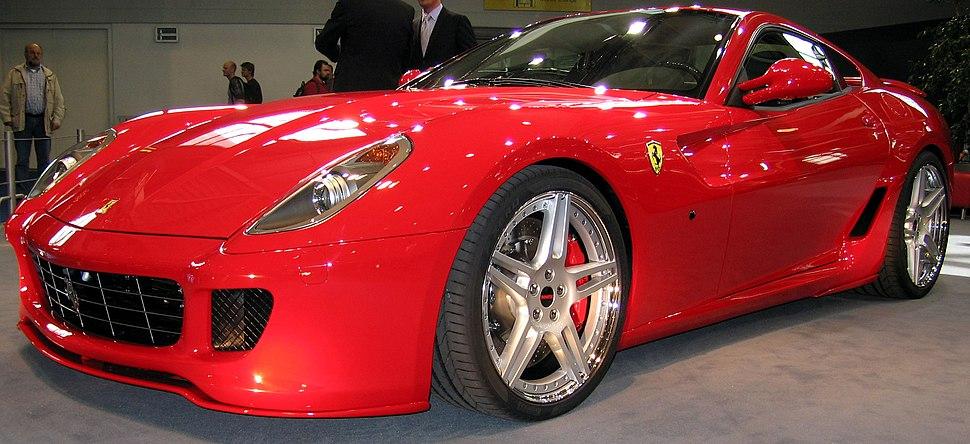 Ferrari 599 GTB by novitec rosso red