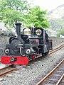 Ffestiniog Railway locomotive Linda 04.jpg