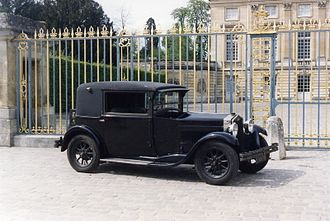 Weymann Fabric Bodies - Fiat 509 with Weymann coachwork by Pourtout 1929