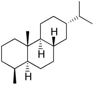 Fichtelite - Chemical structure of fichtelite