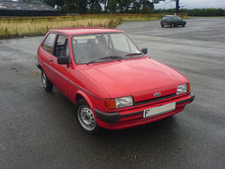 1988 Ford Fiesta Popular Plus Mark II