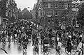 Fietsdemonstratie tegen autoverkeer in binnenstad in Amsterdam fietsdemonstrati, Bestanddeelnr 927-5079.jpg