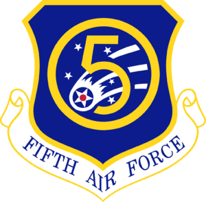 Fifth Air Force - Shield of the Fifth Air Force