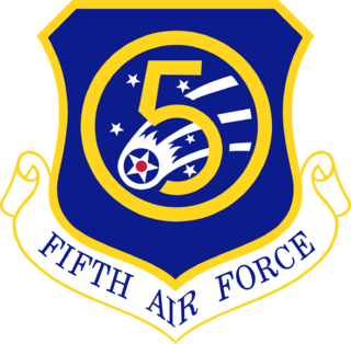 Fifth Air Force Numbered air force of the United States Air Force responsible for the Japanese region